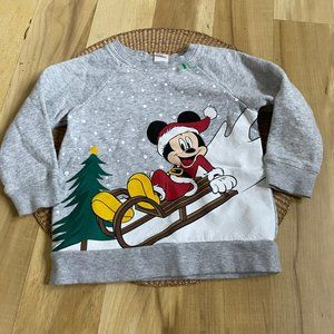 Disney Mickey Mouse H&M Infant Size 18M Sweater